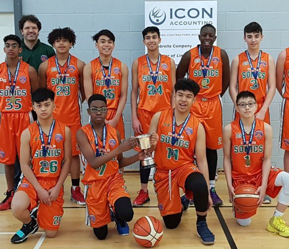 Icon Accounting continue Sponsorship of the Dublin Sonics Basketball Club for 2019